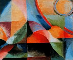 ¤ Delaunay-Terk, Sonia (1885-1979) - 1913 Simultaneous Contrasts (Museo Thyssen-Bornemisza, Spain) by RasMarley, via Flickr