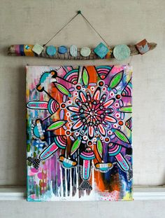 Check out this item in my Etsy shop https://www.etsy.com/listing/399051709/aspire-colorful-mandala-boho-chic-on