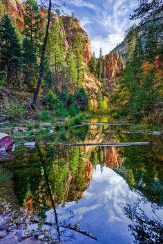 The Greenman,Cernunnos/Herne the Hunter ...West Fork Oak Creek, Sedona, AZ...By Artist Unknown...