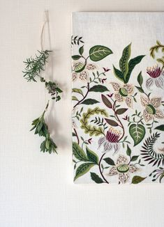 Herb and Embroidery