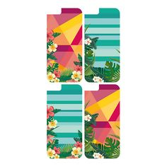 #mood covers for iPhone6  Tropical Flowers Collection Designed by Cristina Gervasi