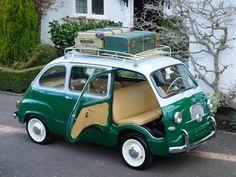 eBay: 1959 Fiat 600 Multipla Vinyl Fiat 600 Multipla Series 1 Classic 1959 LHD / 6 Seater #classiccars #cars