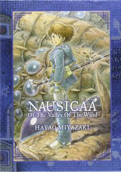 Nausicaa of the Valley of the Wind special edition boxed set. OMG this is beautiful.