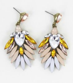 These gorgeous Vivienne Earrings are back in stock too! $18