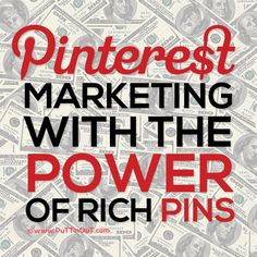 #Pinterest #Marketing with the Power of #RichPins