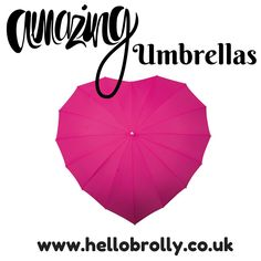 HelloBrolly.co.uk sells stunning umbrellas. We sell Heart, Petal, Square and Pagoda shaped umbrellas alongside some amazing designs. Come and take a look.