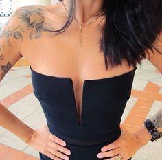 Orchid shoulder tattoo