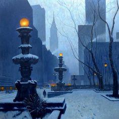 Artist Mark Harrison (British: 1951)