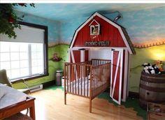 Farm room for kids