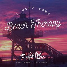 Beach Therapy... there is nothing like it!