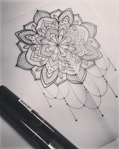 "660 Likes, 11 Comments - Dominique Holmes (@domholmestattoo) on Instagram: ""Mandala. #tattoo #tattooart #tattoodesign #mandala #mandalaart #mehndi #mehndiart #handdrawn…"""
