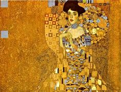 Gustav Klimt - Adele Bloch-Bauer I, 1907