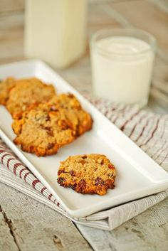 Energy Cookies (Gluten Free) Recipe by The Chubby Vegetarian | Maypurr