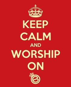 KEEP CALM AND WORSHIP ON. @IAM_CROWNED SHIRTS AVAILABLE IN CHARCOAL/WHITE GET TONIGHT AT CROWNED AT THE B-STUDIO!