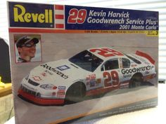 Revell Kevin Harvick Goodwrench #29  NASCAR 1/24th Model Kit 2001 Sealed #RevellMonogram