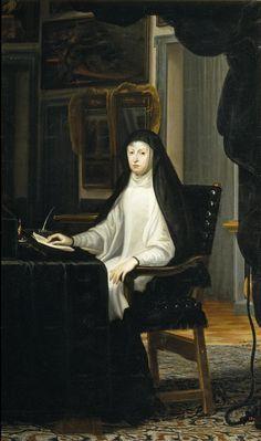 Juan Carreño de Miranda - Portrait of Queen Mariana de Austria as a Widow (1669)
