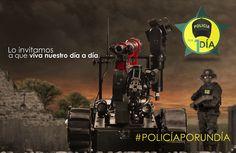#PolicíaPorUnDía una experiencia inolvidable.