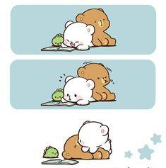 Panda Panda, Cute Panda, Bear Gif, Cute Sketches, Kawaii Illustration, Cute Love Gif, Cartoons Love, Mega Man, Cute Bears