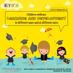 Eyfs Curriculum, Nursery School, Indore, Kindergarten Teachers, Pre School, Birth, Innovation, Learning, Children