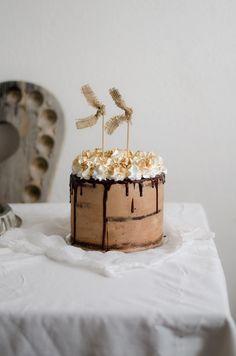 Coco e Baunilha: Bolo de chocolate de leite merengado