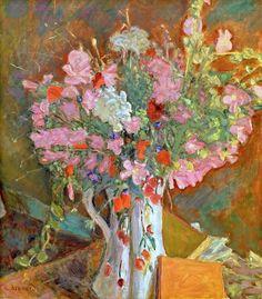 Wild Flowers (1919) Pierre Bonnard