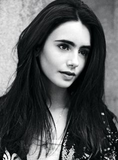 The beautiful Lily Collins