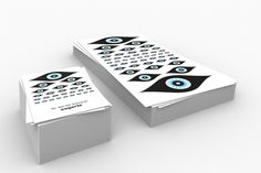 Dr. Eye  Logo & Printed cards for an eye doctor.