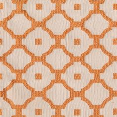 CHANG-TRELLIS-CORAL by Kasmir Fabric