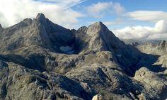 Cresta Cabrones-Torrecerredo desde el Neverón @Picos_de_Europa