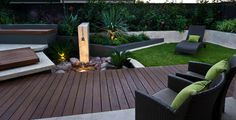 Urban courtyards - traditional - porch - perth - by Cultivart Landscape Design