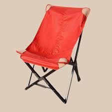 Tripolina chair in red canvas