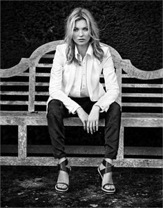 Rag&Bone ad from 2013, starring Kate the Great.