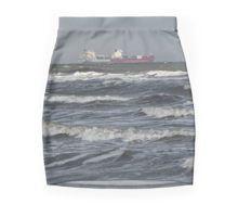 Ghost ship Pencil Skirt #pencilskirt #ss16 #skirt #fashion #womensfashion #clothes #newclothes #redbubble #graphicskirt #newskirt #alternative #digital #digitprint #mini #miniskirt #bodycon