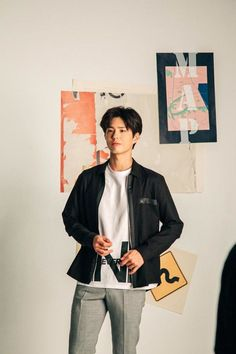 Park Bo Gum shows off his boyish charm in the TNGT spring collection Koogle TV Smile Wallpaper, Park Bo Gum Wallpaper Iphone, Park Go Bum, Moonlight Drawn By Clouds, Boyish, Kim Jung, Spring Collection, Korean Star, Korean Actors