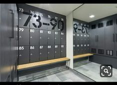 Changing Spaces, Changing Room, Gym Interior, Bathroom Interior Design, Piscina Spa, Locker Designs, Toilette Design, Cabinet Medical, Gym Lockers