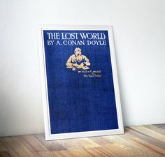 The Lost World Literary Print Gift Arthur by DareToDreamPrints