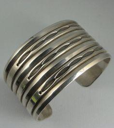 RARE Heavy McKee Platero Wide Silver Bracelet | $255