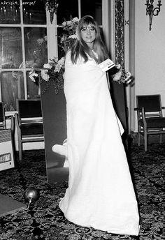 Pattie Boyd looking as always, stunning! Photo credit: Alright George! blog on tumblr