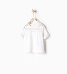 Image 1 de Blouse côtelée de Zara