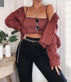 Edgy Outfits – Page 8508095601 – Lady Dress Designs Boujee Outfits, Spring Outfits, Trendy Outfits, Fashion Outfits, Outfits For Concerts, Cute Concert Outfits, Boohoo Outfits, Cute Fashion, 90s Fashion