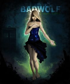 I really love this piece of artwork. Bad Wolf is possibly my favorite story arch and continuation arch of Doctor Who.