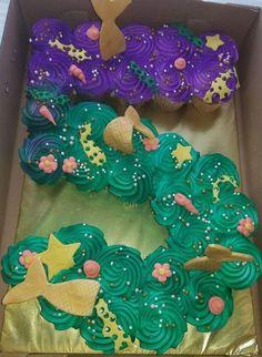 I love this mermaid cupcakes♥