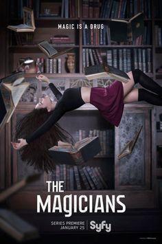 The Magicians es una serie de género fantástico desarrollada por SyFy, basada en la exitosa trilogía de libros de Lev Grossman, cuya primera entrega comparte nombre con esta producción televisiva.