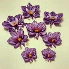 Quilling Orchids :) benim güzel orkidelerim