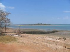 WW11 Flying Boat ramp East Point. Darwin Nt, East Point, Flying Boat, Australia, History, Beach, Water, Top, Outdoor