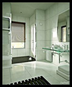 #bathroom #modern #shower #wood