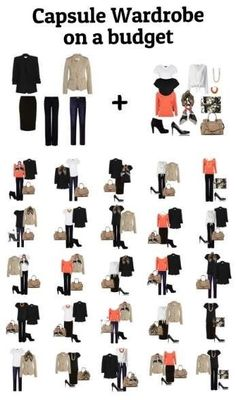 Learn how to build a capsule wardrobe on a budget.  Click through to read now or pin for later.