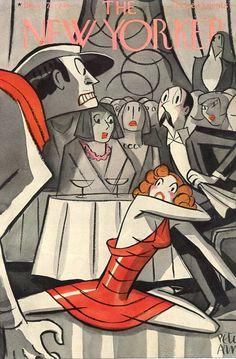 Peter Arno : Cover art for The New Yorker, 7 November 1936