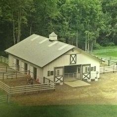 Must have runs/paddocks... Love this barn :))))