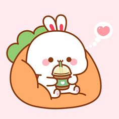 Hello Kitty, Charlie Brown, Bunny, Fictional Characters, Friends, Cute, Amigos, Cute Bunny, Kawaii